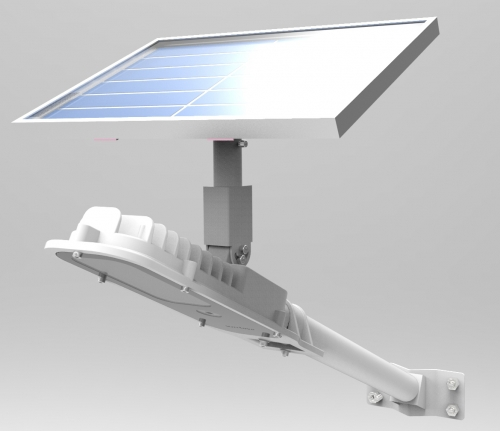 Solar Courtyard LED Light For Pole And Wall